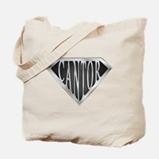 SuperCantor(metal) Tote Bag