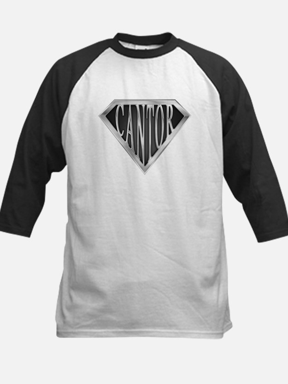 SuperCantor(metal) Kids Baseball Jersey