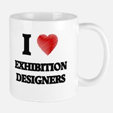 I love Exhibition Designers Mugs