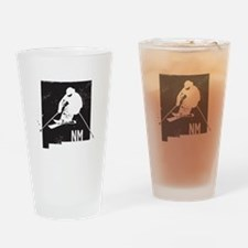 Ski New Mexico Drinking Glass