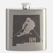 Ski New Mexico Flask