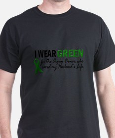 I Wear Green 2 (Husband's Life) T-Shirt