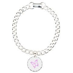 Purple Butterfly Jewellery Bracelet