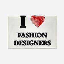 I love Fashion Designers Magnets