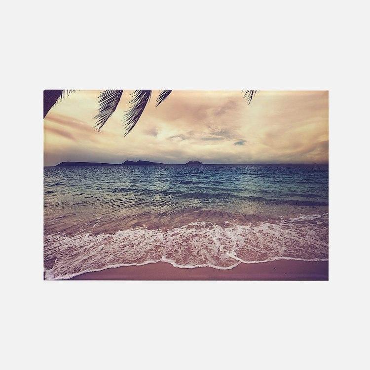 Tropical Beach Magnets