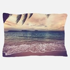 Tropical Beach Pillow Case