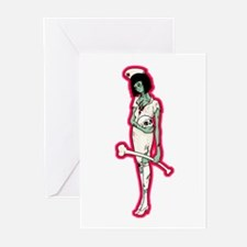 Nurse Zombie Greeting Cards (Pk of 10)