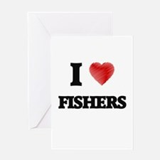 I love Fishers Greeting Cards