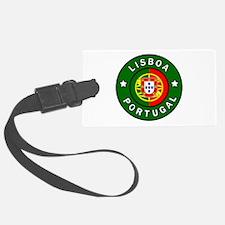 Lisboa Portugal Luggage Tag