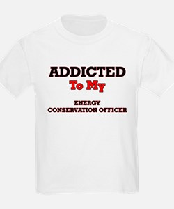 Addicted to my Energy Conservation Officer T-Shirt