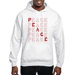 Pro-Peace Hooded Sweatshirt