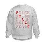 Pro-Peace  Kids Sweatshirt