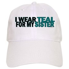 I Wear Teal For My Sister 5 Baseball Cap