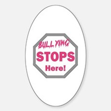 Cute Stop bullies Decal