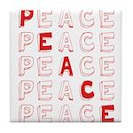 Pro-Peace  Tile Coaster