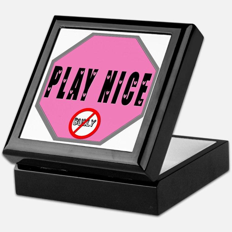 Cute Stop bullying Keepsake Box