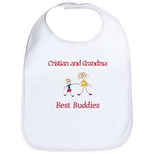 Cristian & Grandma - Buddies Bib