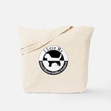 Cute Petit basset griffon vendeen art Tote Bag