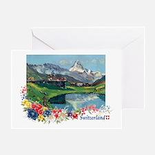 Swiss Beauty Greeting Card