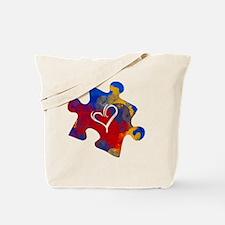 Cute Autism acceptance Tote Bag