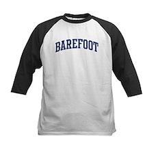 BAREFOOT design (blue) Tee