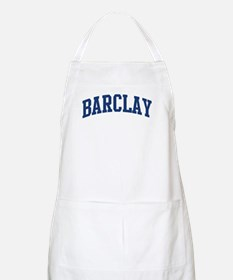 BARCLAY design (blue) BBQ Apron