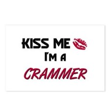 Kiss Me I'm a CRAMMER Postcards (Package of 8)