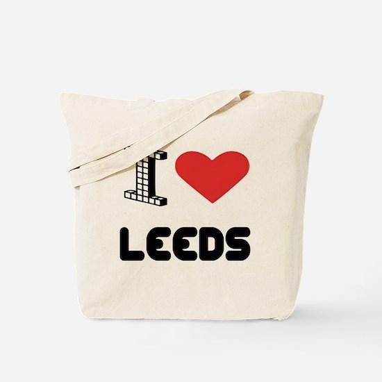 I Love Leeds City Tote Bag