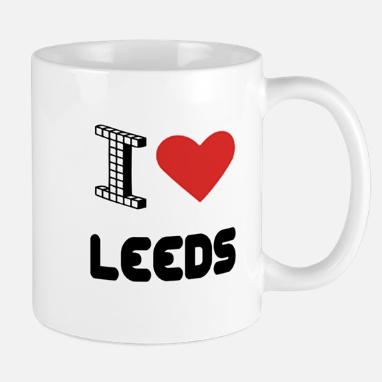 I Love Leeds City Mug