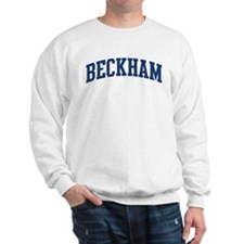 BECKHAM design (blue) Sweatshirt