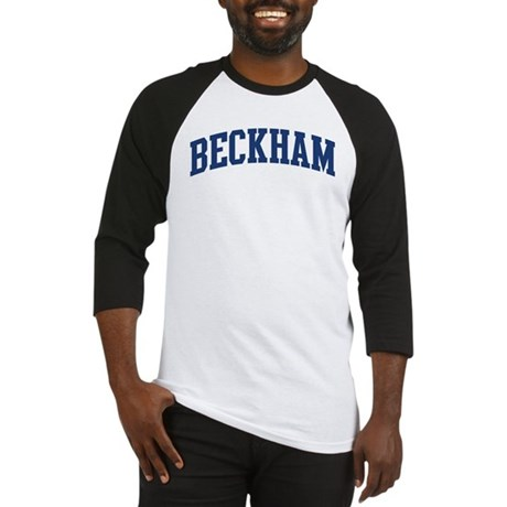 BECKHAM design (blue) Baseball Jersey