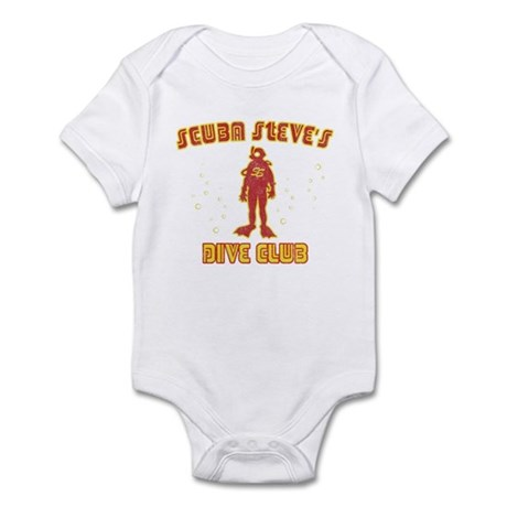 Scuba Steve's Dive Club Infant Bodysuit