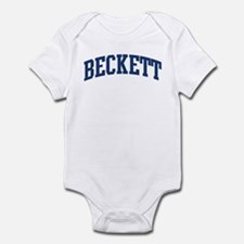 BECKETT design (blue) Infant Bodysuit