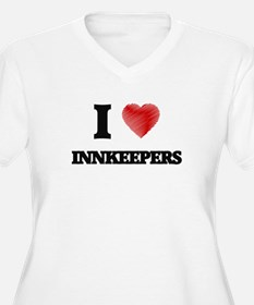I love Innkeepers Plus Size T-Shirt