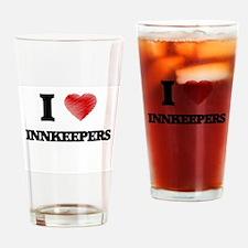 I love Innkeepers Drinking Glass