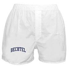 BECHTEL design (blue) Boxer Shorts