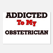 Addicted to my Obstetrici Postcards (Package of 8)
