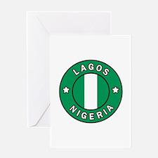 Lagos Nigeria Greeting Cards