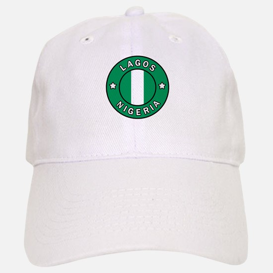 Lagos Nigeria Baseball Baseball Cap