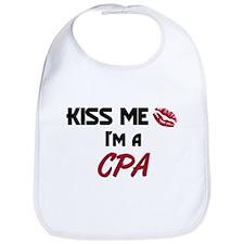 Kiss Me I'm a CPA Bib