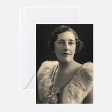 Agatha Cristie Greeting Cards