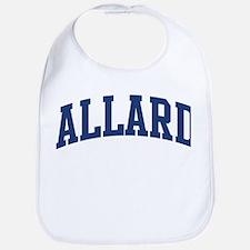 ALLARD design (blue) Bib