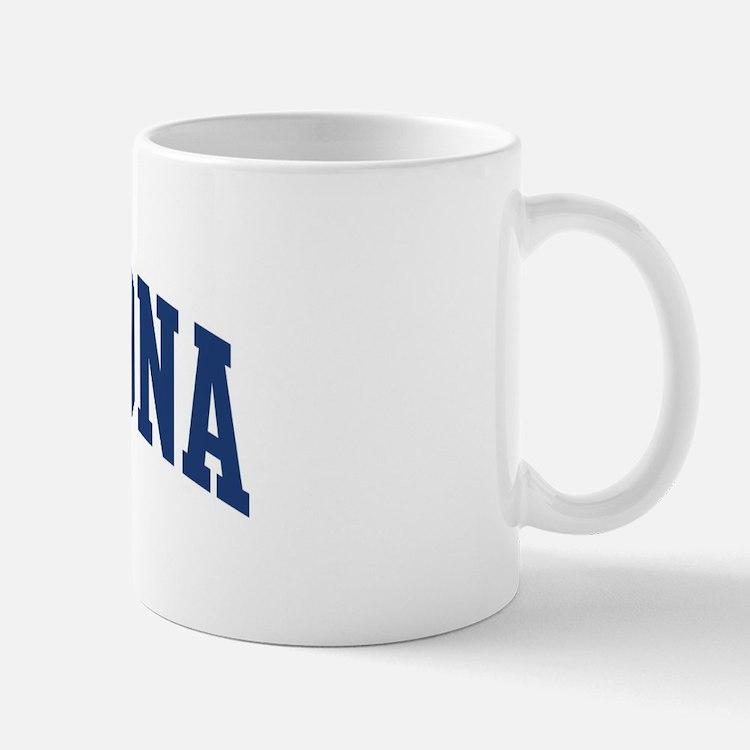 BARAHONA design (blue) Mug
