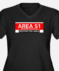 AREA 51 - GROOM LAKE Plus Size T-Shirt