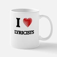 I love Lyricists Mugs