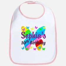 PERSONALIZED 10TH Bib