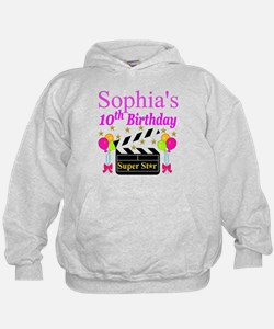 PERSONALIZED 10TH Hoodie