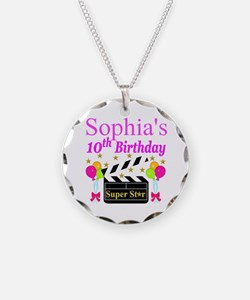 PERSONALIZED 10TH Necklace