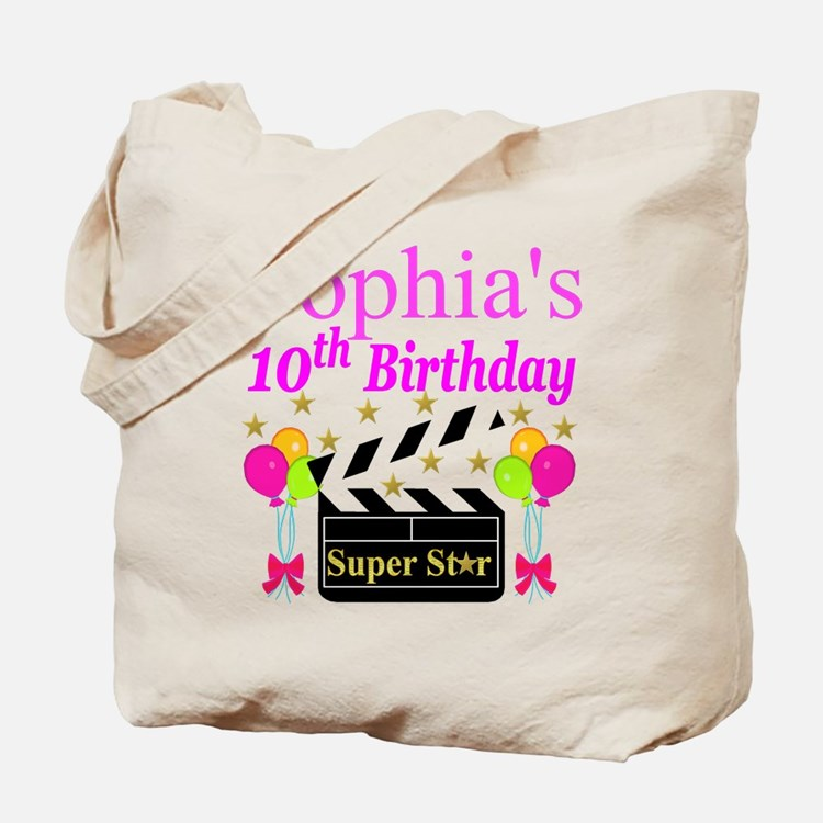 PERSONALIZED 10TH Tote Bag