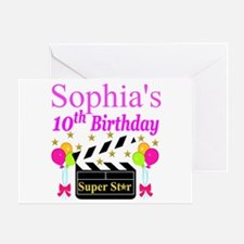 PERSONALIZED 10TH Greeting Card